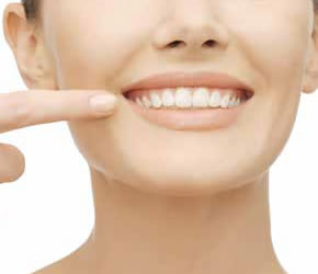 a smile with Dental health